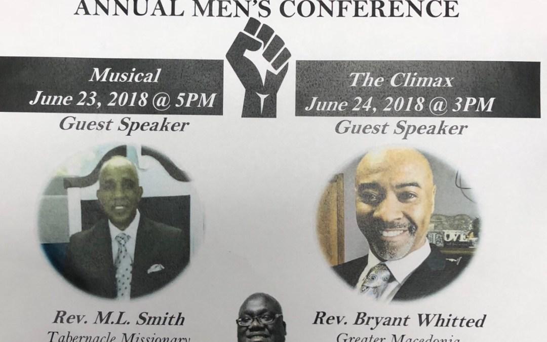 New St. John to Host Men's Conference