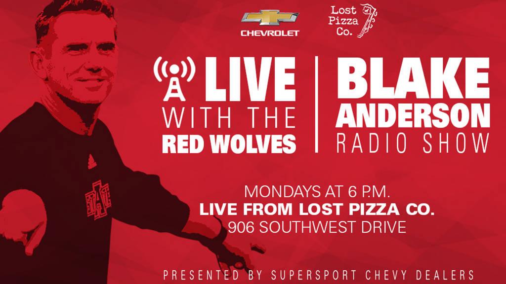 "Live with the Red Wolves"" Radio Program Begins Aug  27 | KLEK 102 5 FM"
