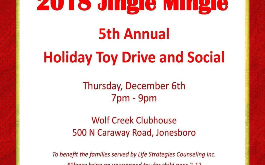 2018 Jingle Mingle Toy Drive and Social