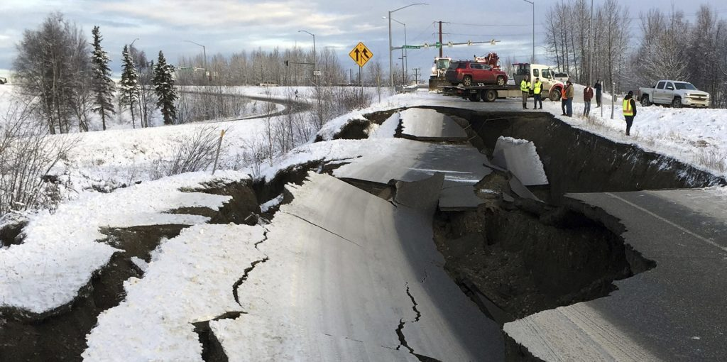 President Monitoring Alaska Earthquake Situation