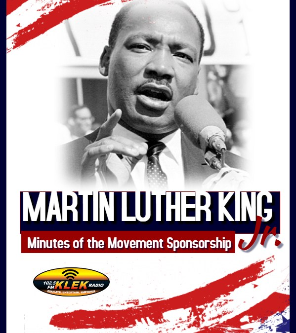 Dr. Martin Luther King Jr. Messages Sponsorship