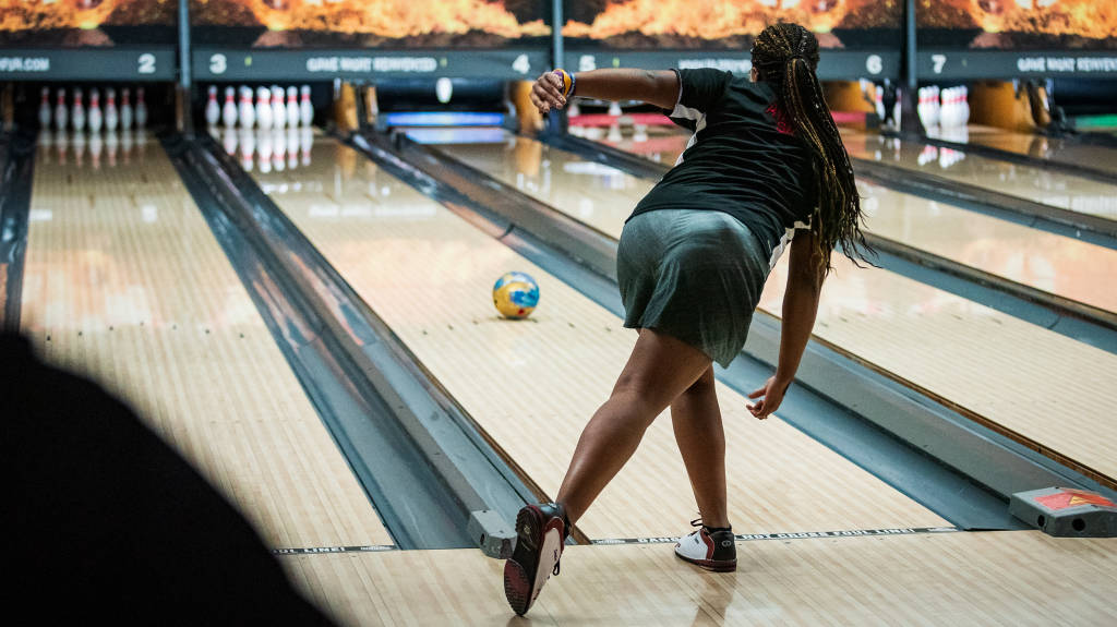 Bowling in Third Place at Mid-Winter Invitational