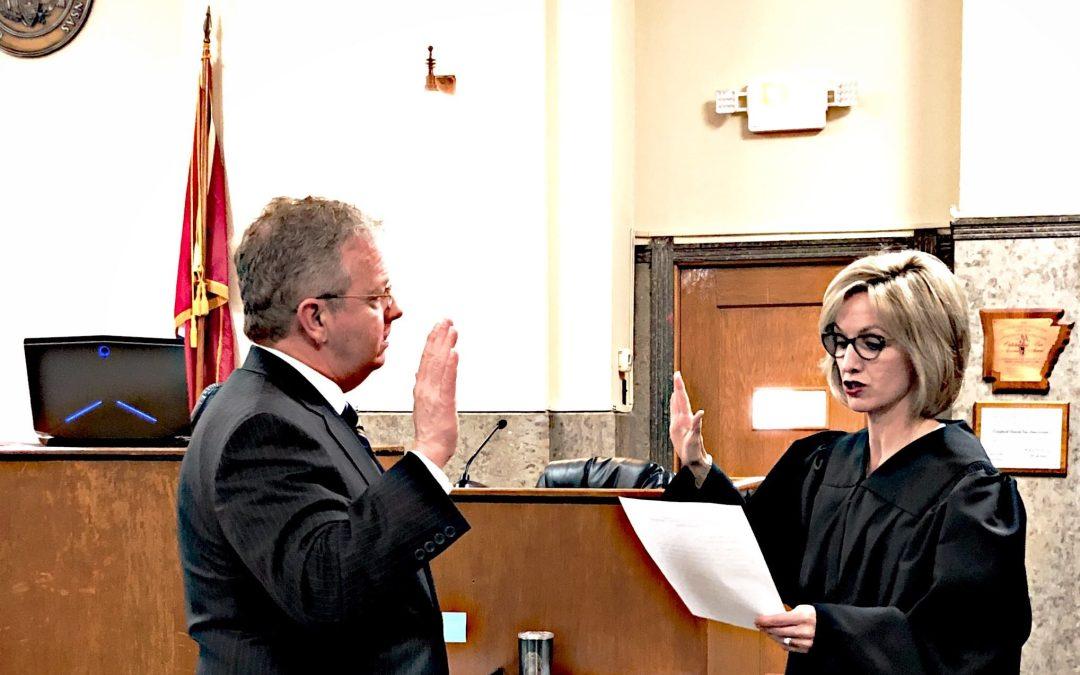 Ellington starts third term as 2nd Judicial District Prosecutor