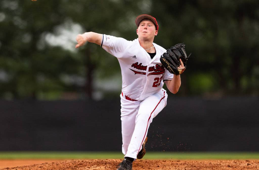 A-State Baseball Falls to Ole Miss in Mid-Week Action