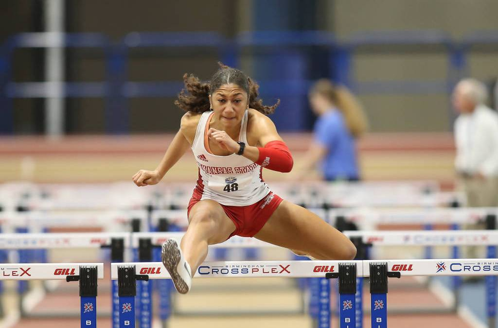 Red Wolves Men and Women Finish Second at SBC Indoor Championships