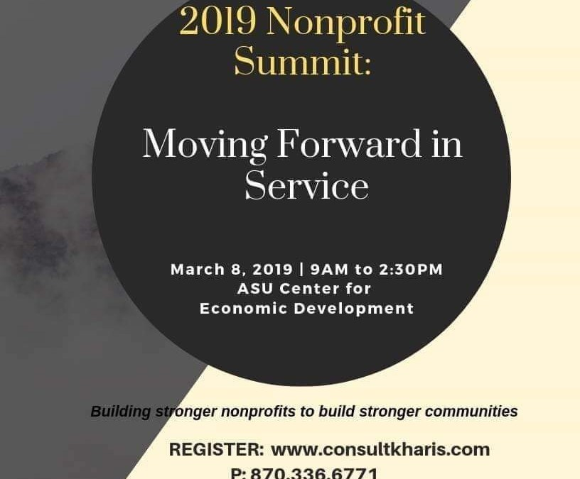 2019 Nonprofit Summit Hosted by Kharis Grants