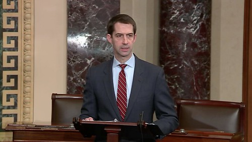 Cotton Addresses National Military Appreciation Month