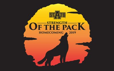 Homecoming Week 2019 Theme is 'Strength of the Pack'