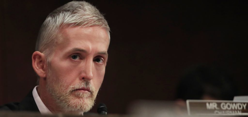 Trey Gowdy Joins Trump Legal Team