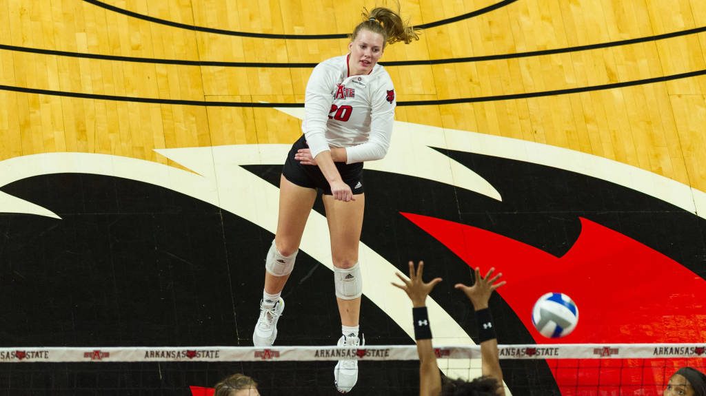 A-State Drops Tough Four-Set Decision At Texas State