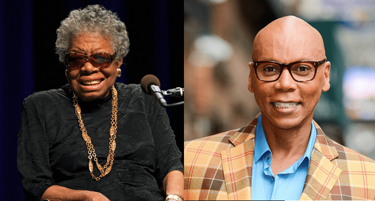 Maya Angelou and Rupaul to be Inducted into State of California Hall Of Fame