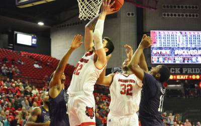 Red Wolves Can't Overcome Slow Start at Missouri State