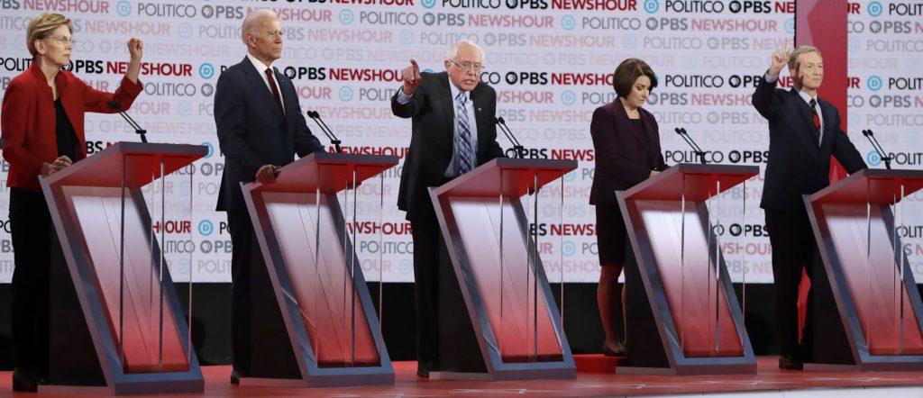 Zero Racial Diversity at Upcoming Democratic Debate