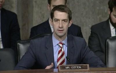 Cotton Applauds New Counterintelligence Strategy