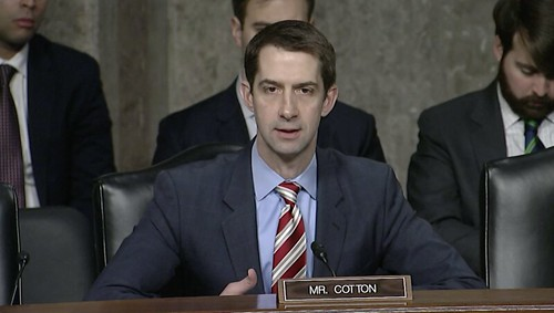 Cotton Applauds New Counterintelligence Strategy