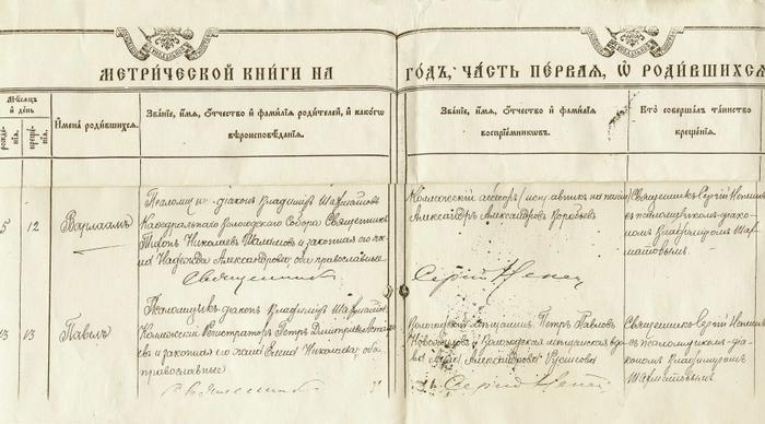 Книга данная из  Кленовской крепости Николаевской церкви вновь родившихся, браками сочетавшихся и умерших на 1805 год