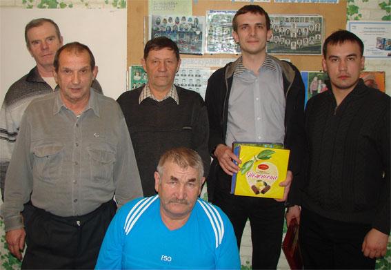 Рождественский шахматный турнир в с.Кленовское