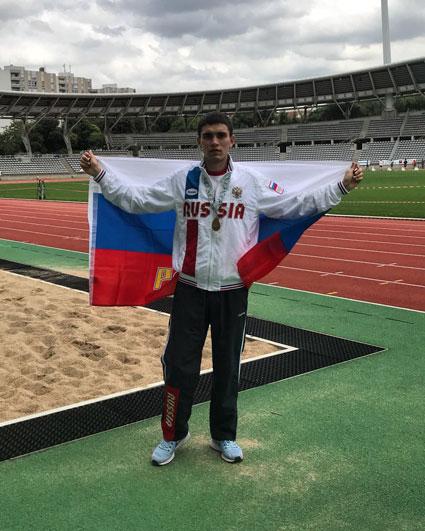 Бронзовый призёр Летних Европейских Игр ИНАС