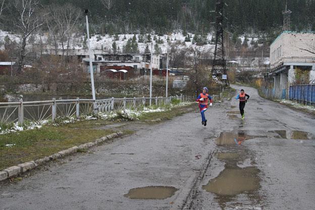 40-ой легкоатлетический пробег, посвящённый памяти Героя Советского Союза А.А.Федотова