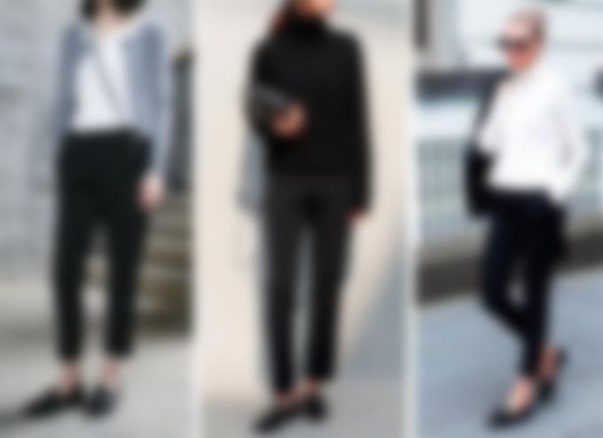 Женские лоферы: создаем модные образы