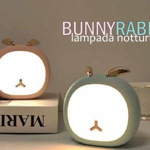 LAMPADA DA TAVOLO  RICARICABILE  BUNNY RABBIT