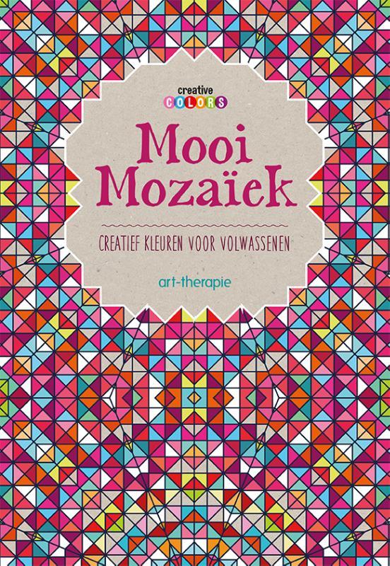 Mooi Mozaiek Creatief Kleuren Voor Volwassenen