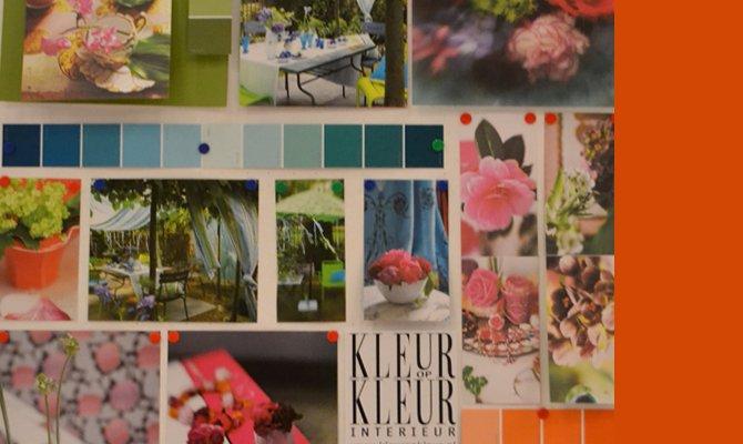 Moodboards maken  Kleur op Kleur Interieur
