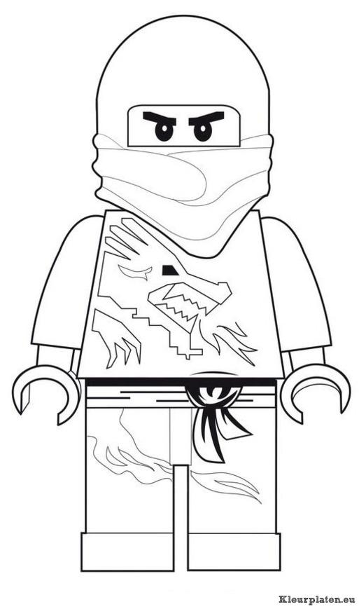 Lego Superhelden Kleurplaat