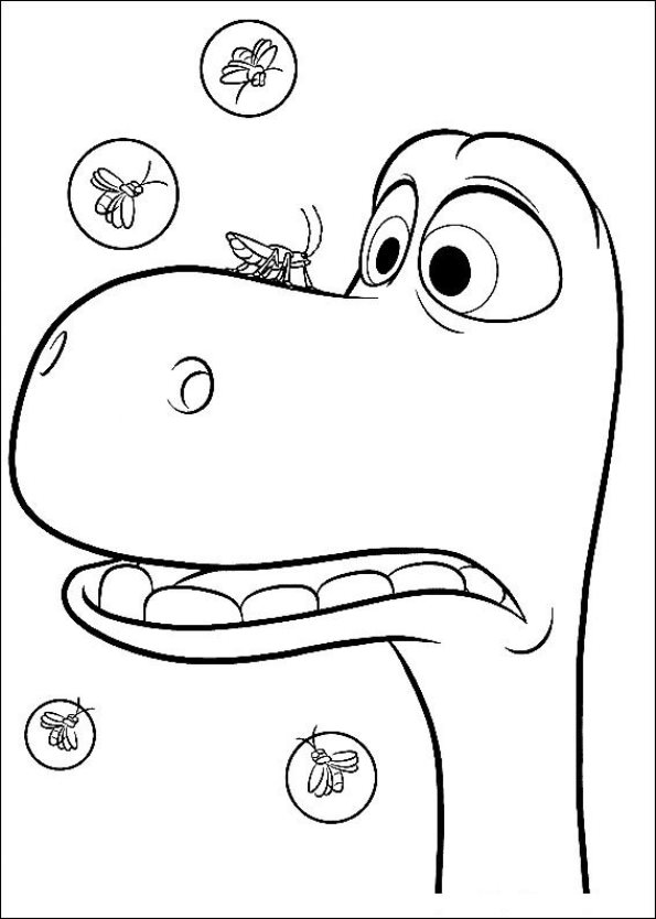 Kleurplatenenzo My Little Pony.Coloring Pages Dinosaur