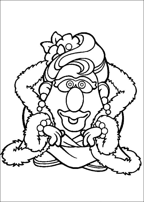 Potato Head Body Parts Coloring Pages Coloring Pages