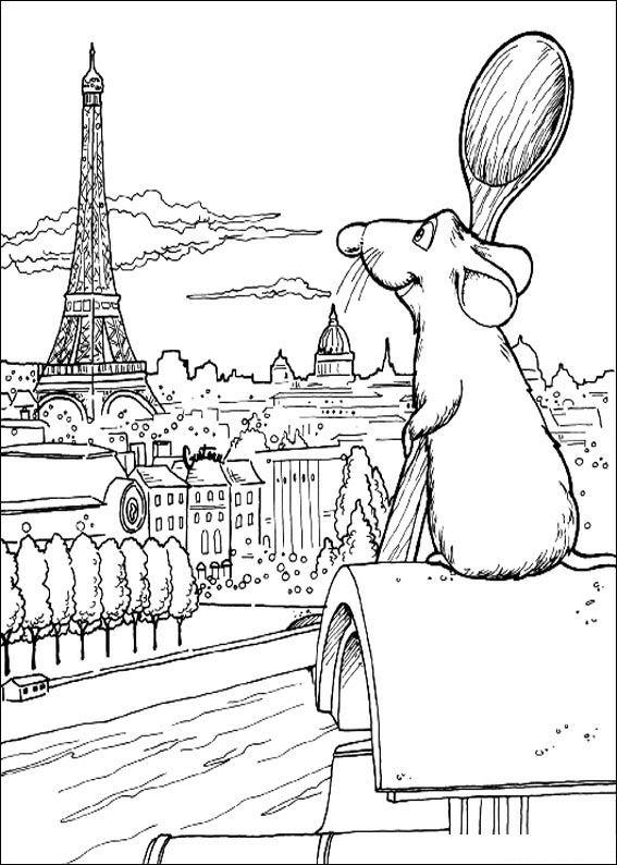 Kleurplaten Eiffeltoren