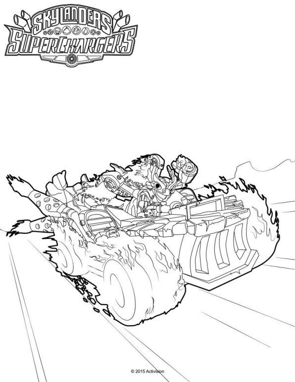 Kleurplaten Skylanders.Kleurplaten Skylanders Superchargers Auto Electrical Wiring Diagram