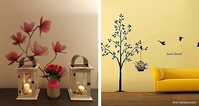 Muurdecoratie woonkamer 5 ideen voor je huis  Kleurvol