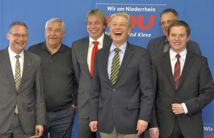 Team Udo: Rudolf Röhrl, Manfred Palmen, Frank Rütten, Udo Janssen, Erwin Kuypers und Robert Böving