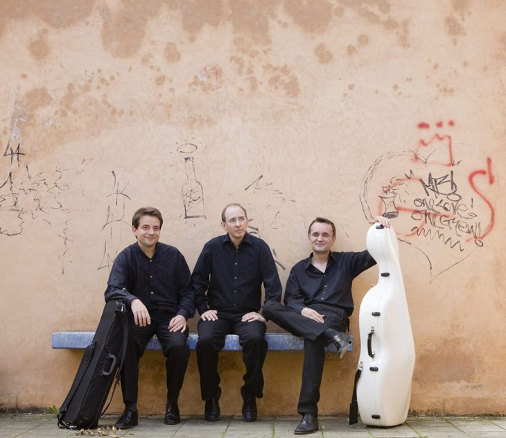 Die drei Herren vom Trio Jean Paul