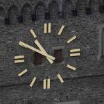 Schwanenturm: Uhr zeigt wieder, was die Stunde schlägt
