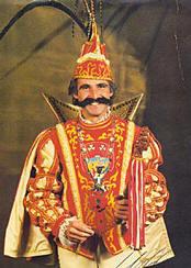 Siegbert der Sagenhafte hatte – wie Theo Brauer – als Karnevalsprinz einen Bart.