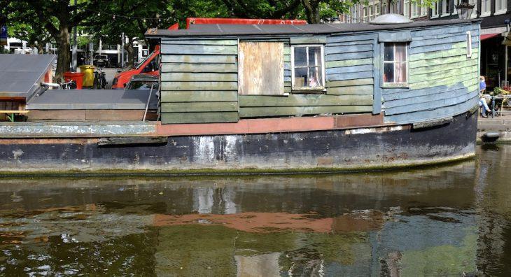 Hausboote — in Amsterdam relativ gut erforscht, in Kleve Neuland. Aber nicht mehr lange.