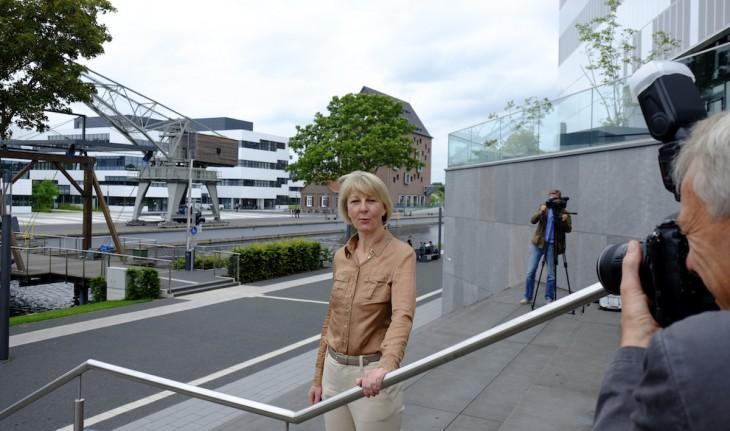 Positive Bilanz: Heide Naderer, seit einem Jahr Präsidentin der Hochschule Rhein-Waal