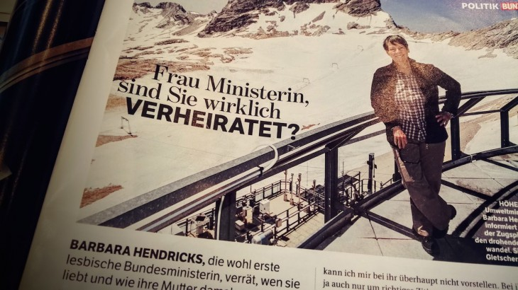 Dr. Hendricks, Zugspitze: Weiße Kulisse für bunte Fragen
