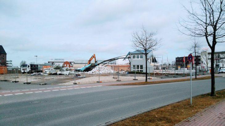 Platz für neues Autohaus: Honda Evers lässt seinen Firmensitz an der Wiesenstraße abreißen