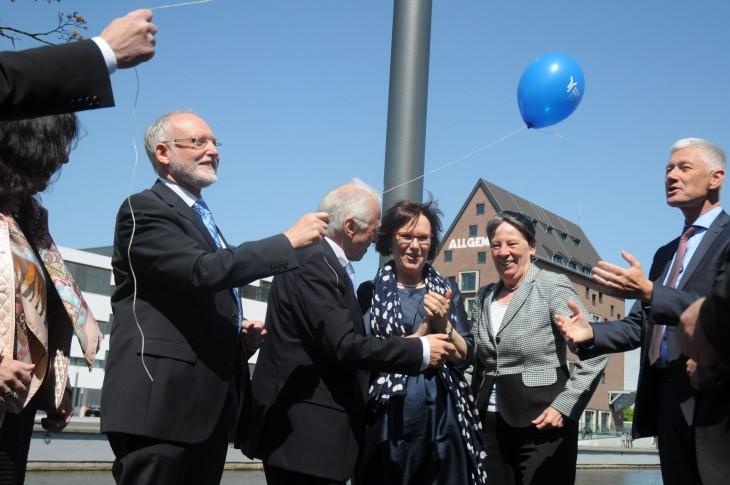 Und das so was von so was kommt: ein Luftballon, nicht 99 (Foto: HRW)