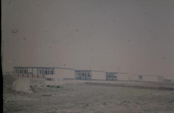 Kann sich noch jemand daran erinnern? Die Anfänge des Konrad-Adenauer-Gymnasiums ca. 1969/70 in Pavillons (Foto: Website KAG/Frau Klett)