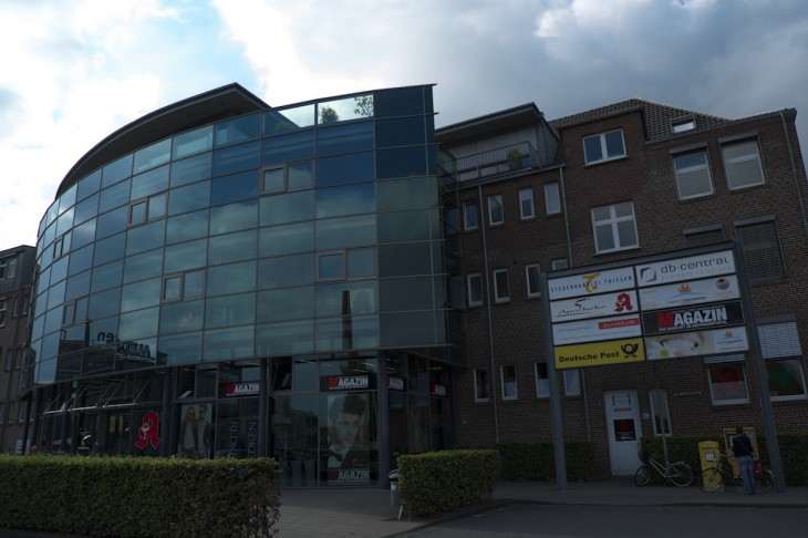In Schieflage: db-central, Unternehmenszentrale an der Hoffmannallee