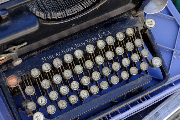 Trödel an der Keekener Straße: Schreiben ohne Cursor