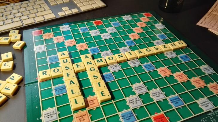 Der Praxistext zeigt: Rosenmontagszug passt perfekt, für den Rest müsste eine neue Scrabble-Version erfunden werden