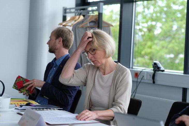 Zum Haareraufen war's manchmal schon: Präsidentin Heide Naderer