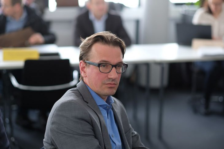 Schweigsamer Senator: Prof. Dirk Untiedt