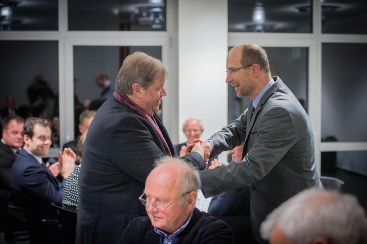 Feierliche Einführung des neuen Chefarztes in Goch. Prof. Dr. Verreet übernimmt die Chirogische Abteilung des Hauses.