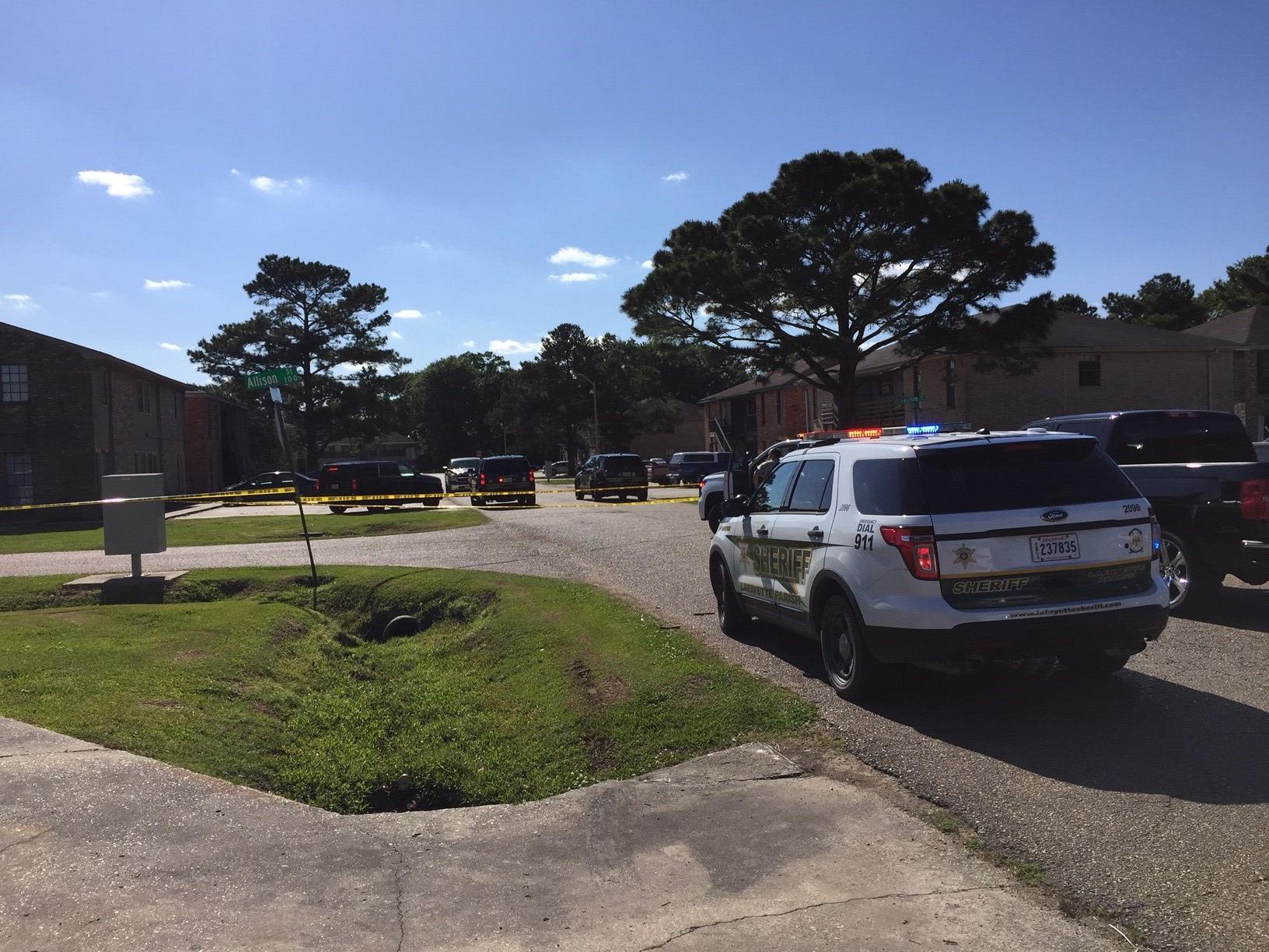 Lafayette Parish Sheriff's Office investigating shooting on Allison